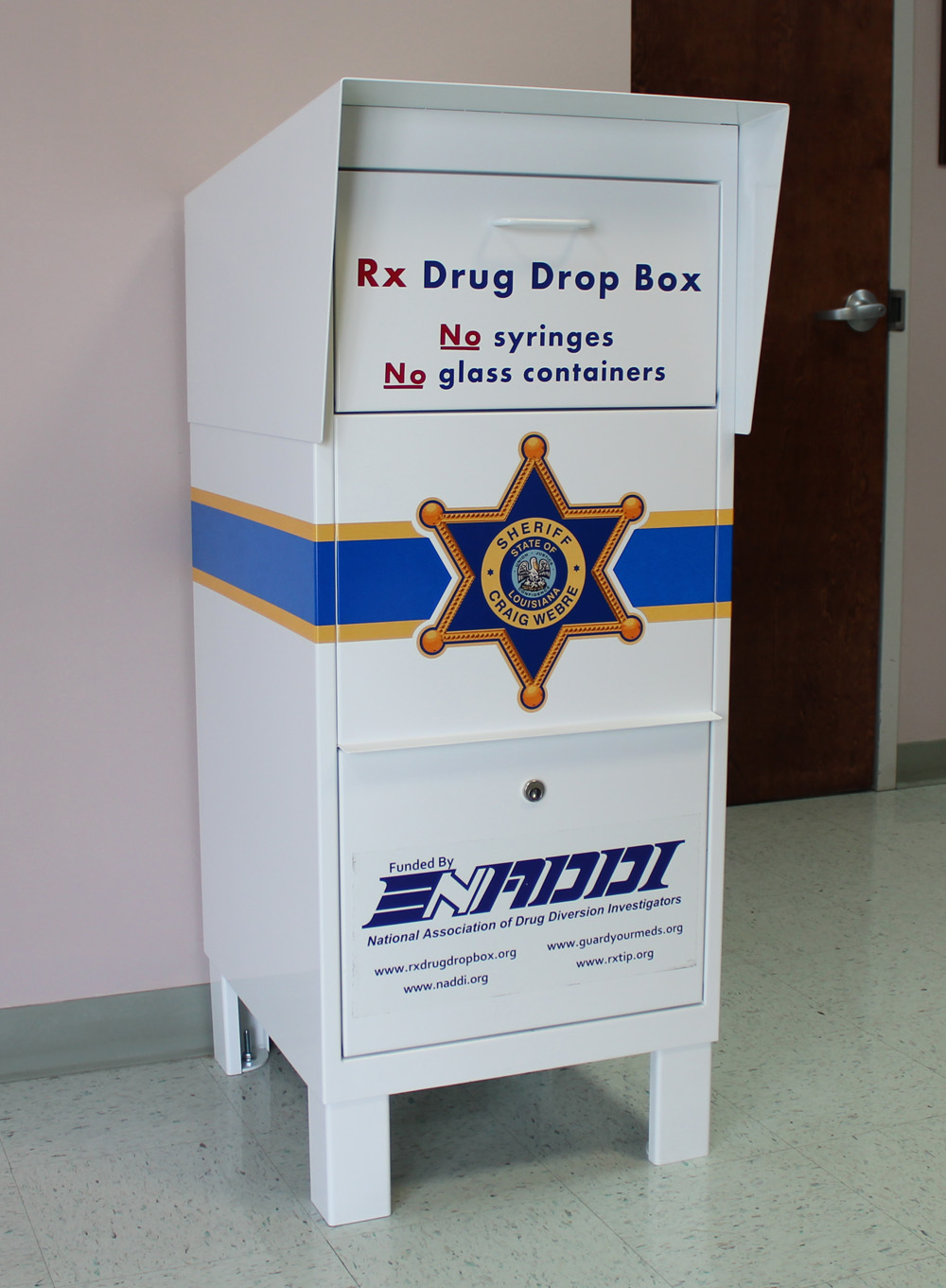 Prescription Drug Drop-off Boxes Available at LPSO Offices