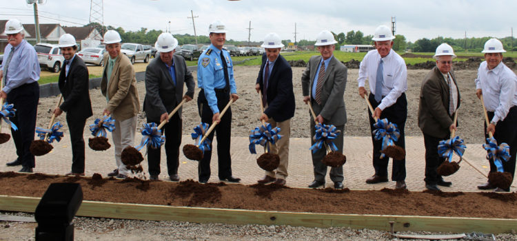 Construction of New Lafourche Parish Jail Begins with Groundbreaking Ceremony