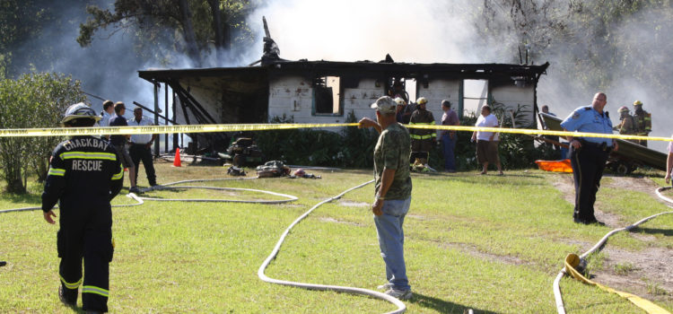 Choctaw Man Dies in Fire He Set at His Home