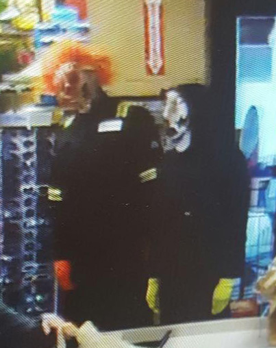 Clowns Spotted in St. James