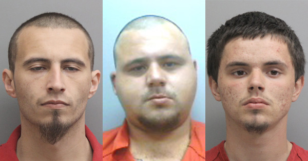 Three Charged in Thibodaux Residential Burglary Investigation