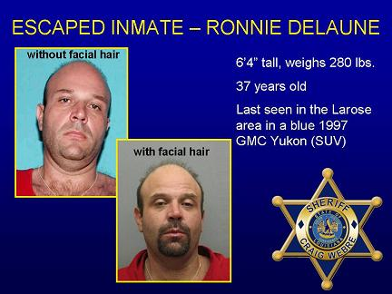 Public's Help Requested in Locating Escaped TWP Inmate