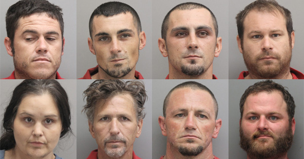 Agents Arrest Eight as Part of Heroin Operation