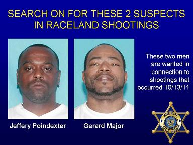 Search on for Two Suspects in Raceland Shootings