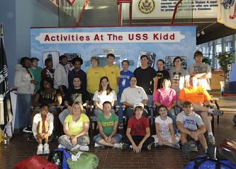 Explorers Visit USS Kidd; Particpating in Upcoming Events