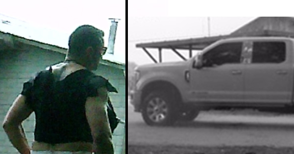 Detectives Seek to Identify Camp Burglary Suspect