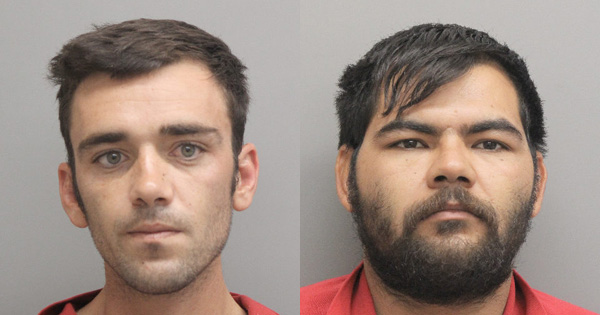 Two Men Arrested Saturday Night on a Myriad of Drug Charges