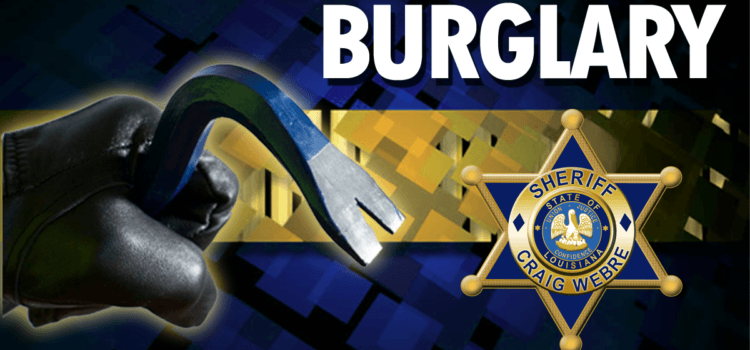 Information Sought on Raceland Residential Burglary