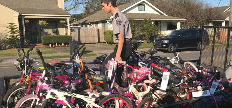Donations Being Accepted for 25th Annual LPSO Christmas Bicycle Giveaway