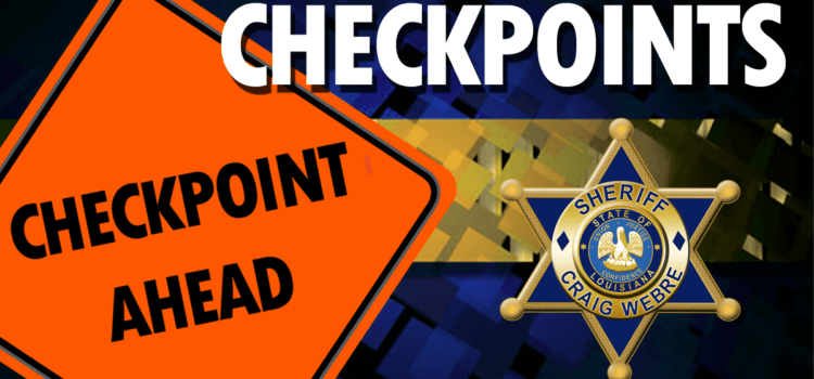 Seat Belt Checkpoint Scheduled for July 11, 2018