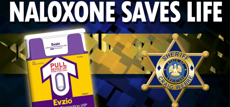 Deputies Use Naloxone to Save Two Lives in Separate Incidents over the Weekend