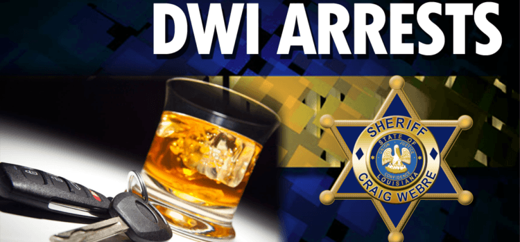 Deputies Charge Five Individuals with DWI in 24 Hours