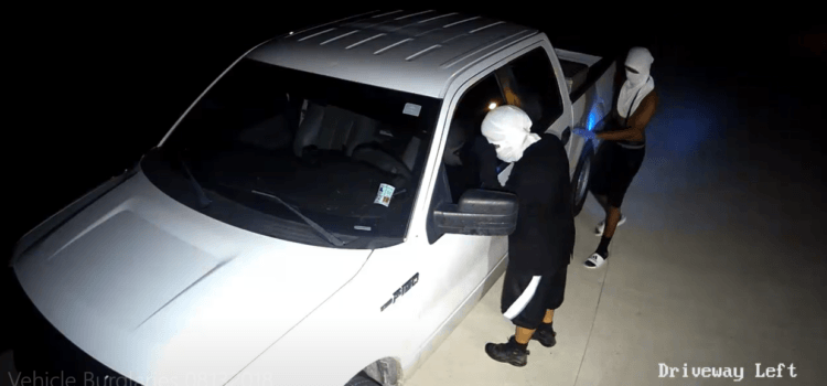 Detectives Seek to Identify Two Suspects in Investigation of Vehicle Theft and Burglaries