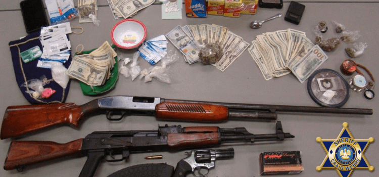 Cut Off Drug Dealer Arrested Following Search of Residence