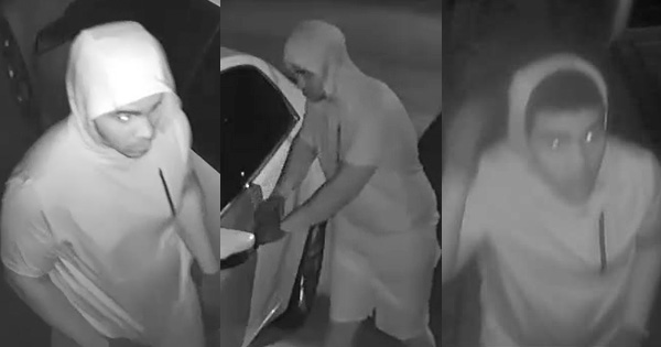 Suspect Sought in Raceland Vehicle Burglaries