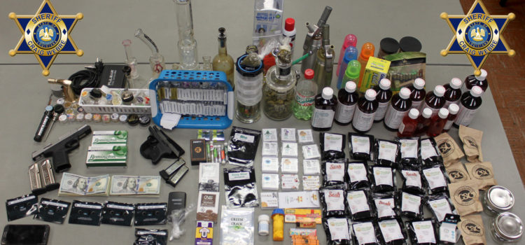 Chackbay Man Arrested after Agents Find Drugs, Weapons, and Cash at His Residence