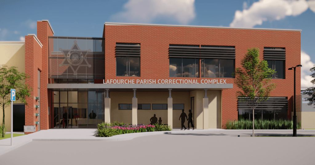 Computer rendering of the new Correctional Complex