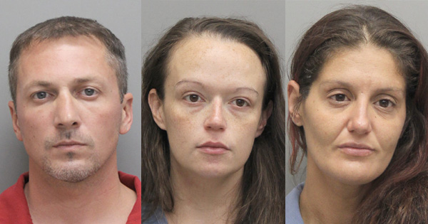 Early Morning Traffic Stop Nets Three Arrests