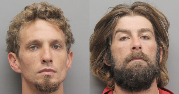 Two Cut Off Men Arrested for Drug Possession Also Face Burglary Charges