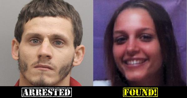Lirette Arrested Adams Found