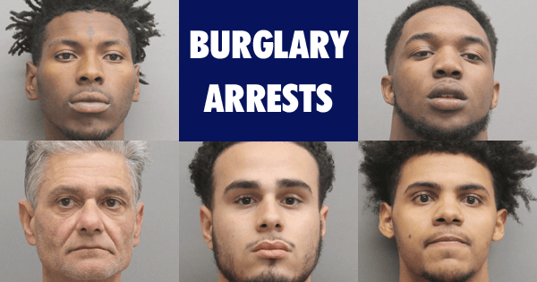 Burglary Arrests 01182018