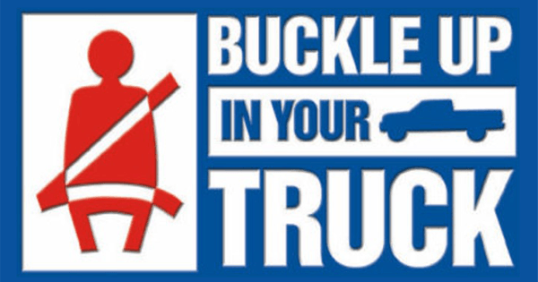Buckle Up In Truck Featured