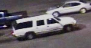 Suspects' SUV