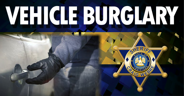 Vehicle Burglary Feat