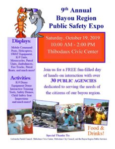 2019 Public Safety Expo Flyer