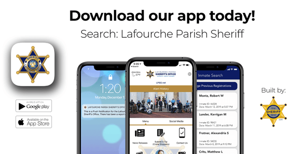 Lafourche Parish Sheriff's Office App