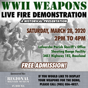 WWII Weapons Demo