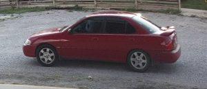 Suspect 2 Car