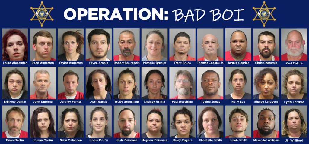 Operation Bad Boi Arrests