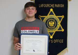 Joshua Scioneaux LSA Scholarship Recipient