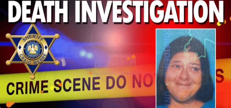 Death Investigation Michelle Griffin