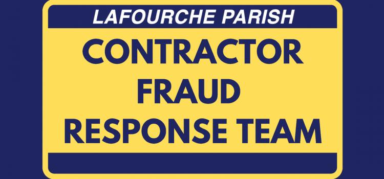 Contractor Fraud Response Team